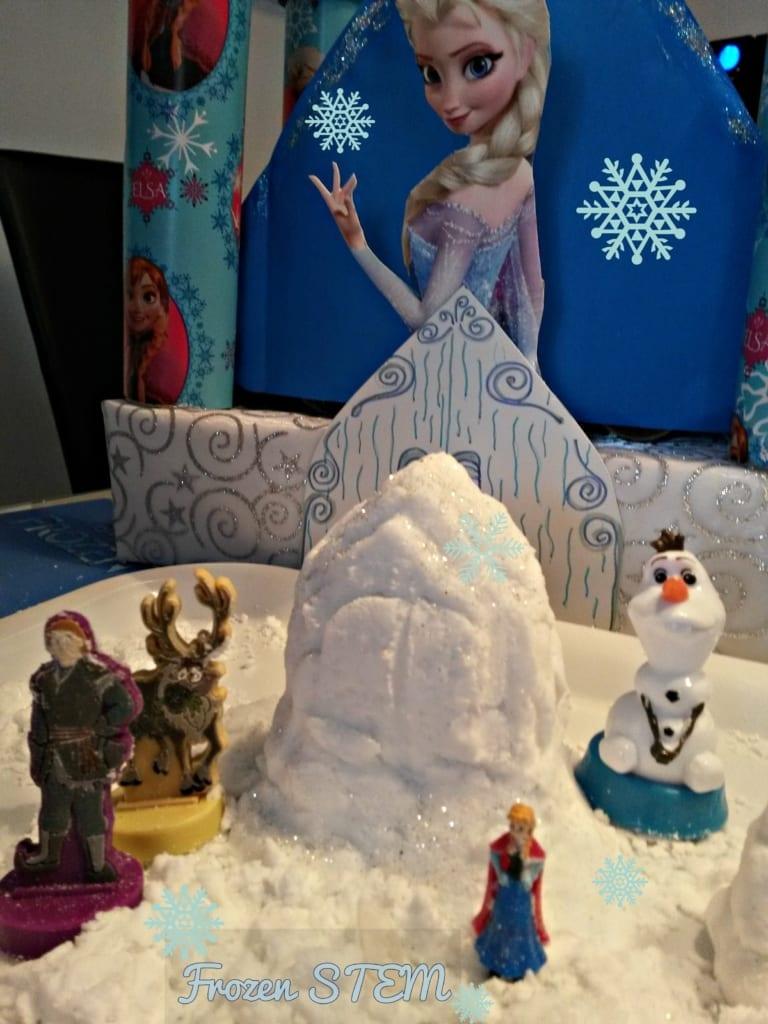 Frozen STEM radionice za djecu- Frozen STEM razvojna igra