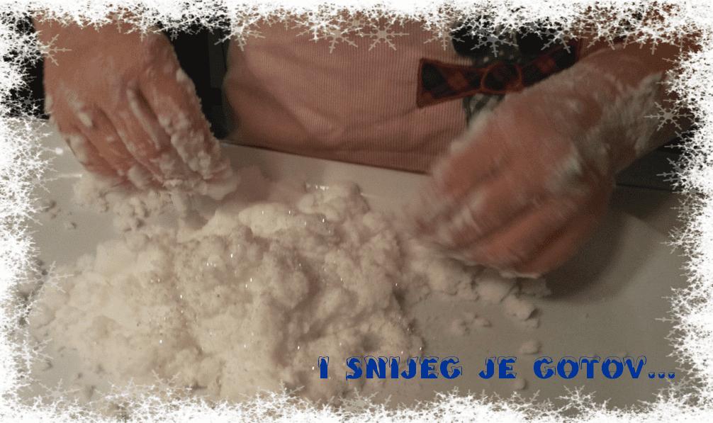 Frozen-STEM-radionice-za djecu-priprema-Frozen-snijega
