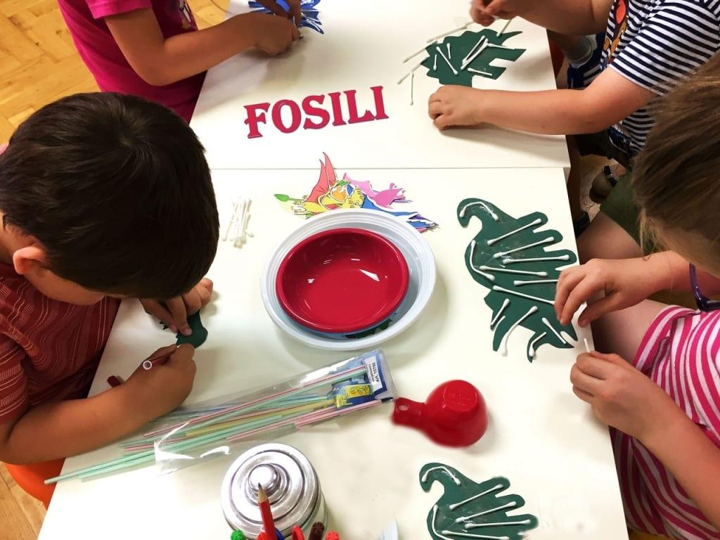 Radionice za djecu u Zagrebu - Fosili - Smart Ideas Lab