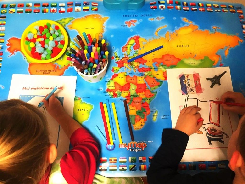 Likovne radionice za djecu - SmArt putopisci 3