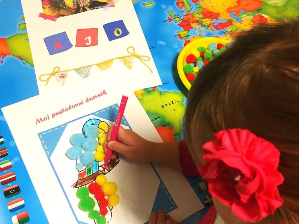 Likovne radionice za djecu - SmArt putopisci 2